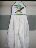 CSS011 - Frog Chef Towel Toppers