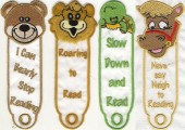 CSS054 - Animal Bookmarks Set 2