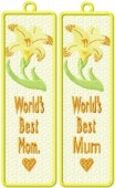 CSS154 - A Mother's Dream FSL Bookmark 5