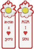 CSS154 - A Mother's Dream FSL Bookmark 6