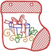 CSS168 - Stocking Gift Bag 2