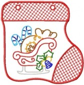 CSS168 - Stocking Gift Bag 8