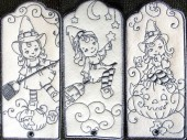 CSS176 - Charming Witch Bookmarks