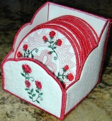 CSS372 - Rose Coasters & Holder