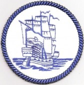 CSS012 - Bluework Ship Coasters