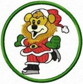 CSS021 - Christmas Lion Coasters