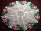 CSS038 - FSL Flower Edged Doily