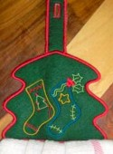 CSS045 - Christmas Towel Toppers