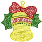 CSS055 - FSL Christmas Bell Ornament 1