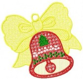 CSS055 - FSL Christmas Bell Ornament 4