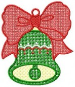 CSS055 - FSL Christmas Bell Ornament 8