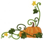 CSS121 - Curly Pumkin Borders & Cnrs 3