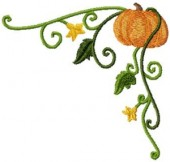 CSS121 - Curly Pumkin Borders & Cnrs 7