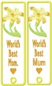 CSS155 - A Mother's Dream Bookmark 5