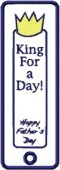 CSS158 - King for a Day Appl. Bookmark 4
