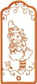CSS176 - Charming Witch Bookmarks 1