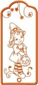 CSS176 - Charming Witch Bookmarks 6