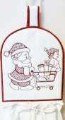 CSS276 -  Christmas Towel Toppers