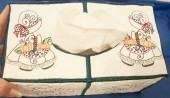 CSS284 - Sunbonnet Tissue Box Large