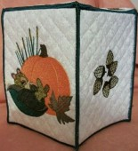 CSS286 - Sleepy Squirrel Tissue Box 5x7