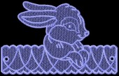 CSS354 - FSL Bunny Easter Egg Holder 4
