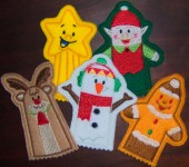 CSS397 - Christmas Finger Puppets