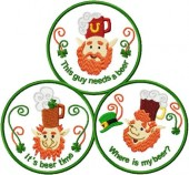 CSS603 - St Patrick's Day Coasters
