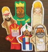 CSS617 - Nativity Finger Puppets