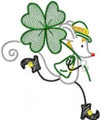 CSS655 - Little Mouse on St Patrick's Day
